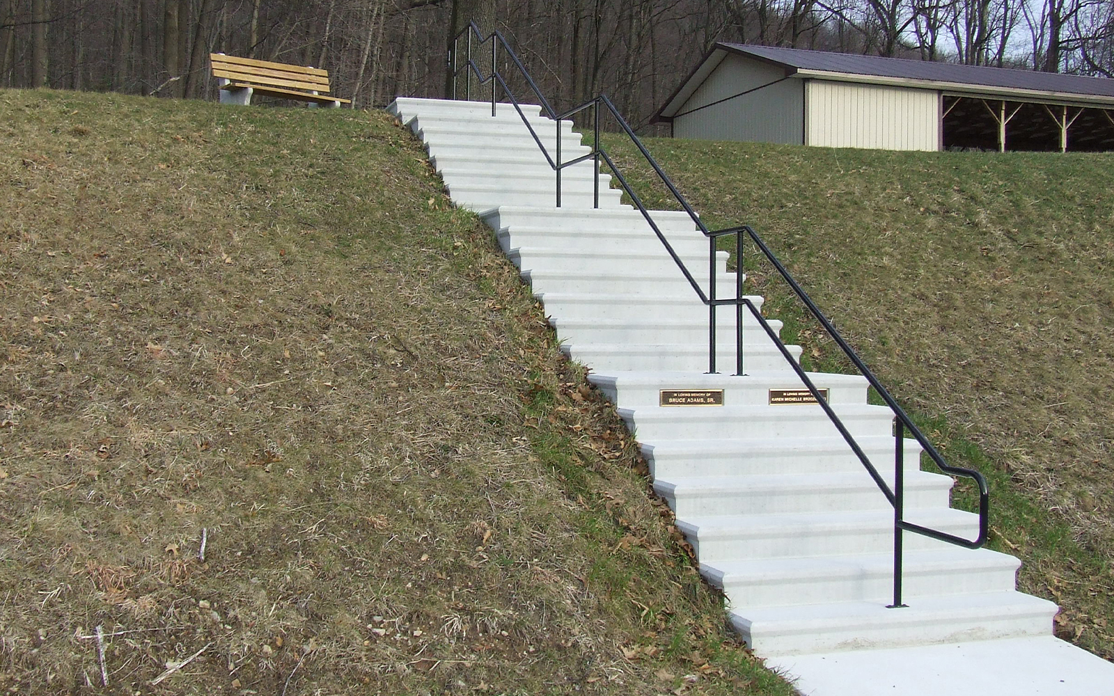 terrace-step-railing