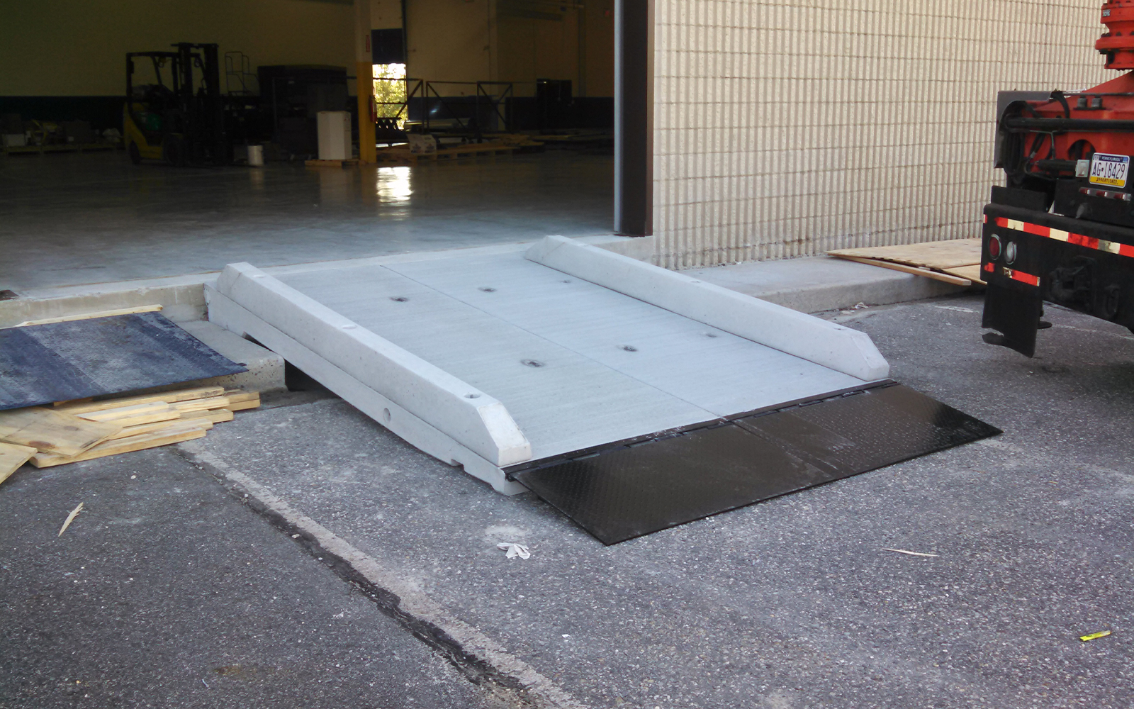 small-concrete-loading-ramp